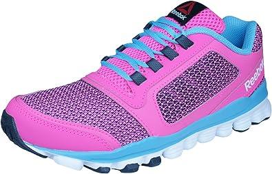 Reebok Hexaffect Storm, Zapatillas de Running para Niñas: Amazon.es: Zapatos y complementos