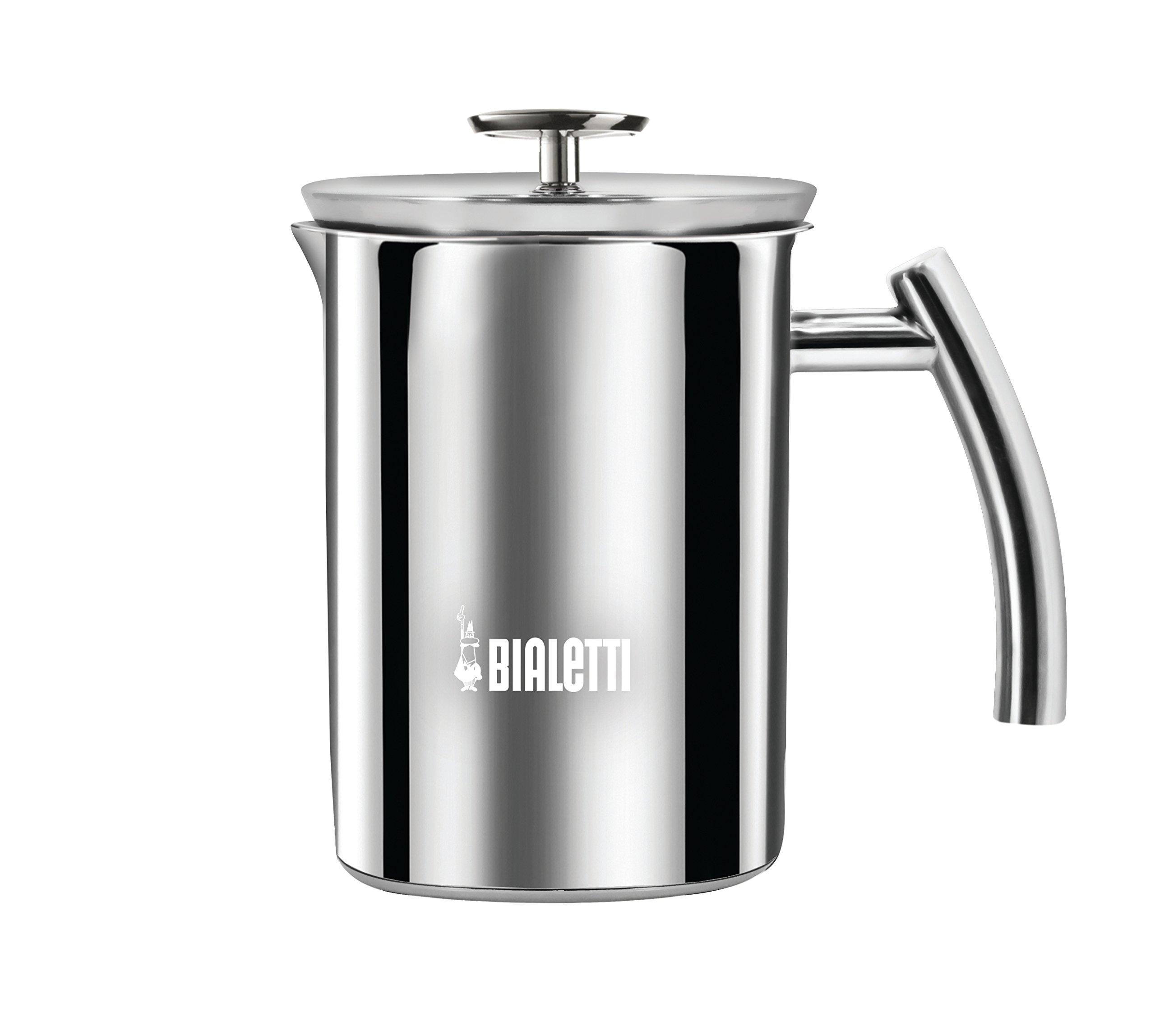 BIALETTI Milchaufschäumer 1 Liter Cappuccino Maker Hand Milk ... | {Milchaufschäumer 78}