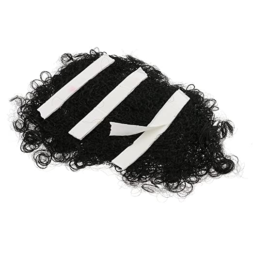 Amazon.com: Dovewill Novelty 70s Hairy Chest Wig Disco Fancy Dress Macho Mens Costume Prop Black: Clothing