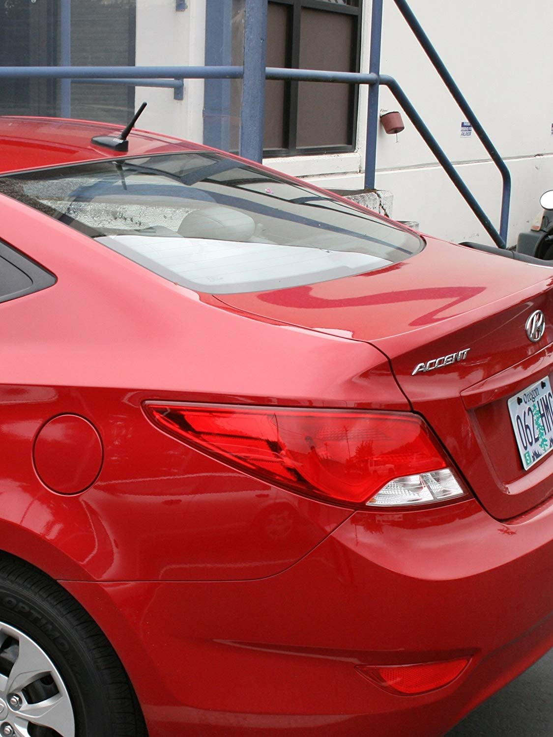 CravenSpeed Stubby Antenna Replacement for the Hyundai Accent 2011-2019 4 inches