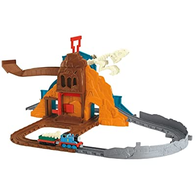 Fisher-Price Thomas & Friends Take-n-Play, Roaring Dino Run: Toys & Games