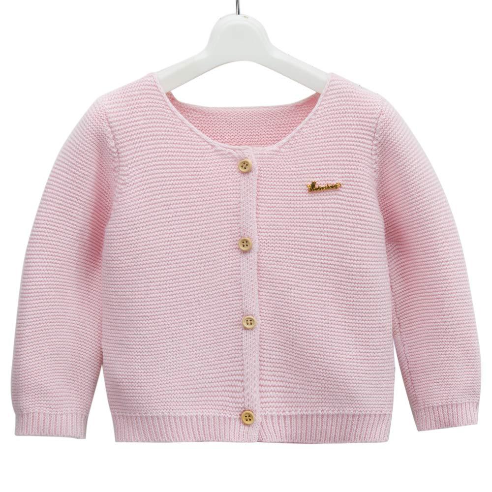 a4d9f6947 Amazon.com  Girl s Knit Long-Sleeved Sweater Children s Woollen ...