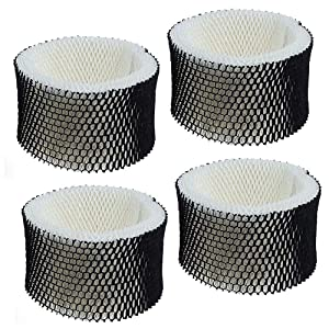 "Humidifier Filter For Holmes""A"" HWF62 HWF62CS Replacement Air Filter for Holmes HWF62 Also Fit Sunbeam Humidifier Filter 4 Pack"