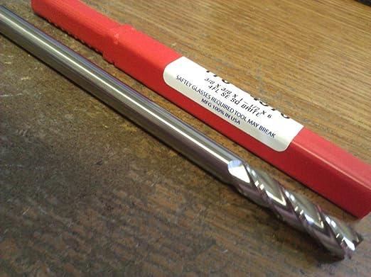 "3//8/"" Dia x 1-1//2/"" Cut AlumaCut 3 Flute Carbide End Mill HiSpeed Aluminum USA F18"