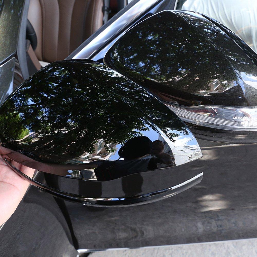 Tapa de pl/ástico ABS para espejo retrovisor de coche Benz C W205 E W213 GLC-Class X253 S Class W222