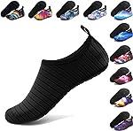 ANLUKE Water Shoes Barefoot Aqua Yoga Socks Quick-Dry Beach Swim Surf