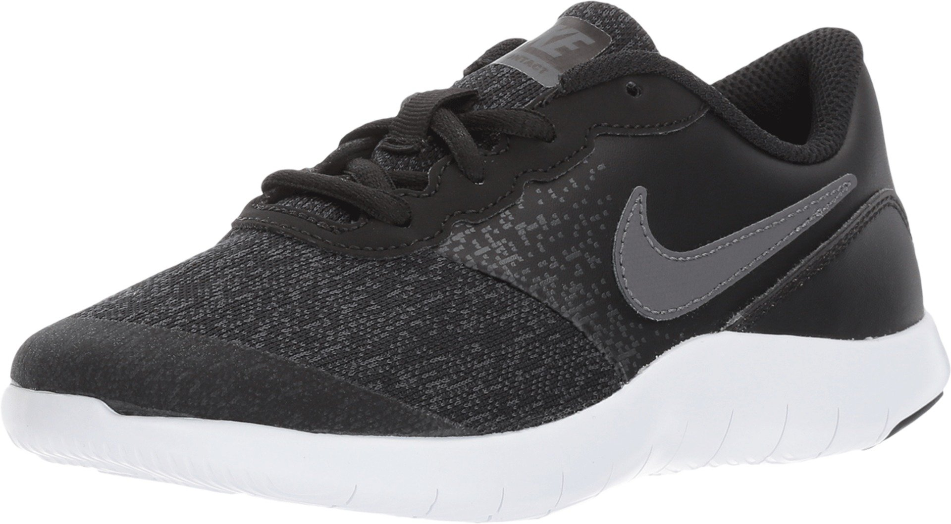 Nike Kids Flex Contact (PS) Black DRK Gry Anthracite White Size 2.5