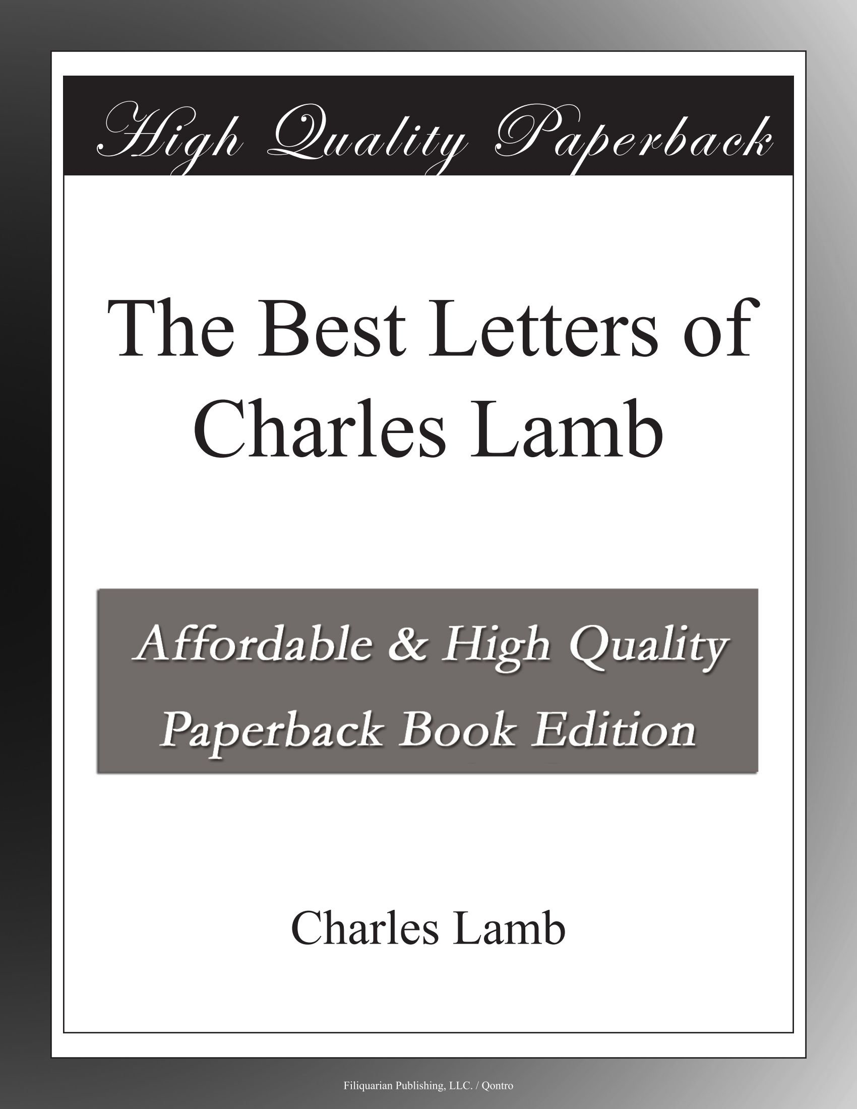 Read Online The Best Letters of Charles Lamb pdf
