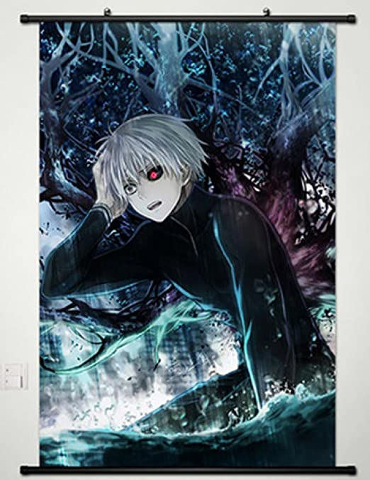 Animation Tokyo Ghoul Wall Scroll Poster Vintage Art Hanging Painting Poster New