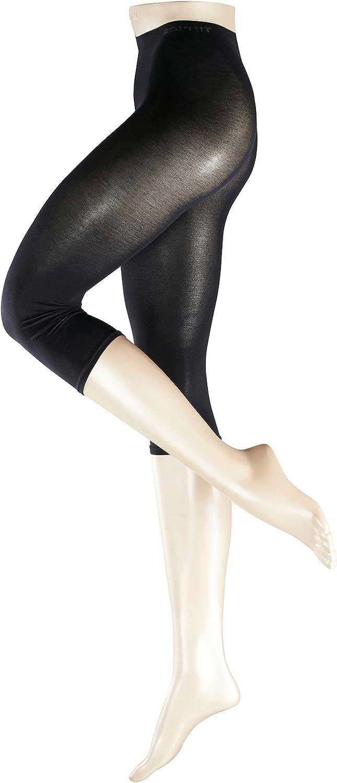 S-XXL - Blickdichte Basicleggings aus hautfreundlicher Baumwolle ESPRIT Damen Capri Leggings Cotton Gr/ö/ße 36-46 Farben Versch Baumwollmischung 1 St/ück