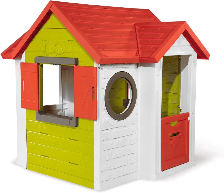 Smoby Casita Infantil My Neo House, Color colorée (810404): Amazon.es: Juguetes y juegos