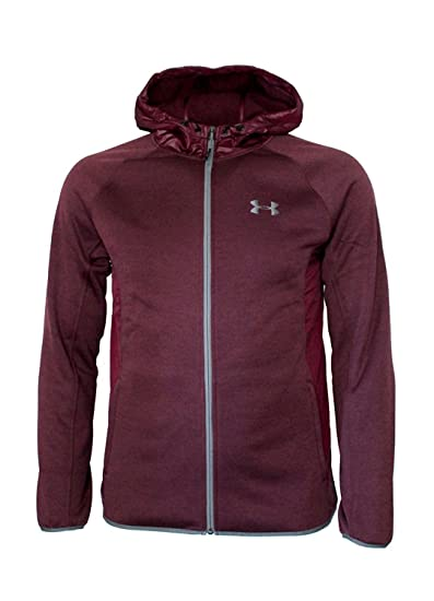 1cf0d03e7 Under Armour Men's Storm Athletic Full Zip Hooded Light Jacket Hoodie at  Amazon Men's Clothing store: