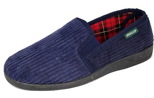 Dunlop - Zapatillas de estar por casa para hombre, color azul, talla 43: Amazon.es: Zapatos y complementos