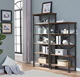 O&K FURNITURE 6-Tier Industrial Style
