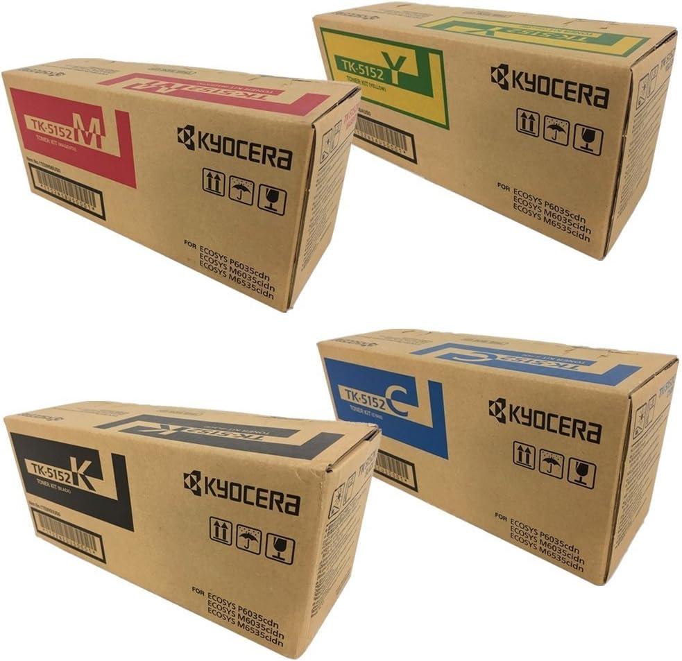 CNY Toner 5 Packs Compatible Kyocera Mita TK-562K Black Toner