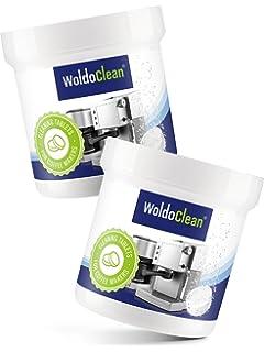 Pastillas para la limpieza de cafeteras automáticas - 2x 40 tabletas limpiadoras compatible con marcas,