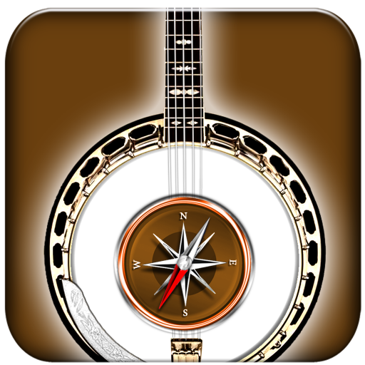 Banjo Chords Compass (Tenor Play Learn Banjo)