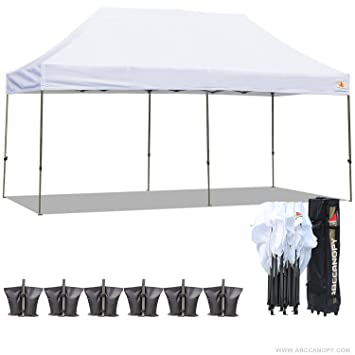 ?18+ colors?AbcCanopy 10x20 Pop up Tent Instant Canopy Commercial Outdoor Canopy with  sc 1 st  Amazon.com : 10x20 pop up tent - memphite.com