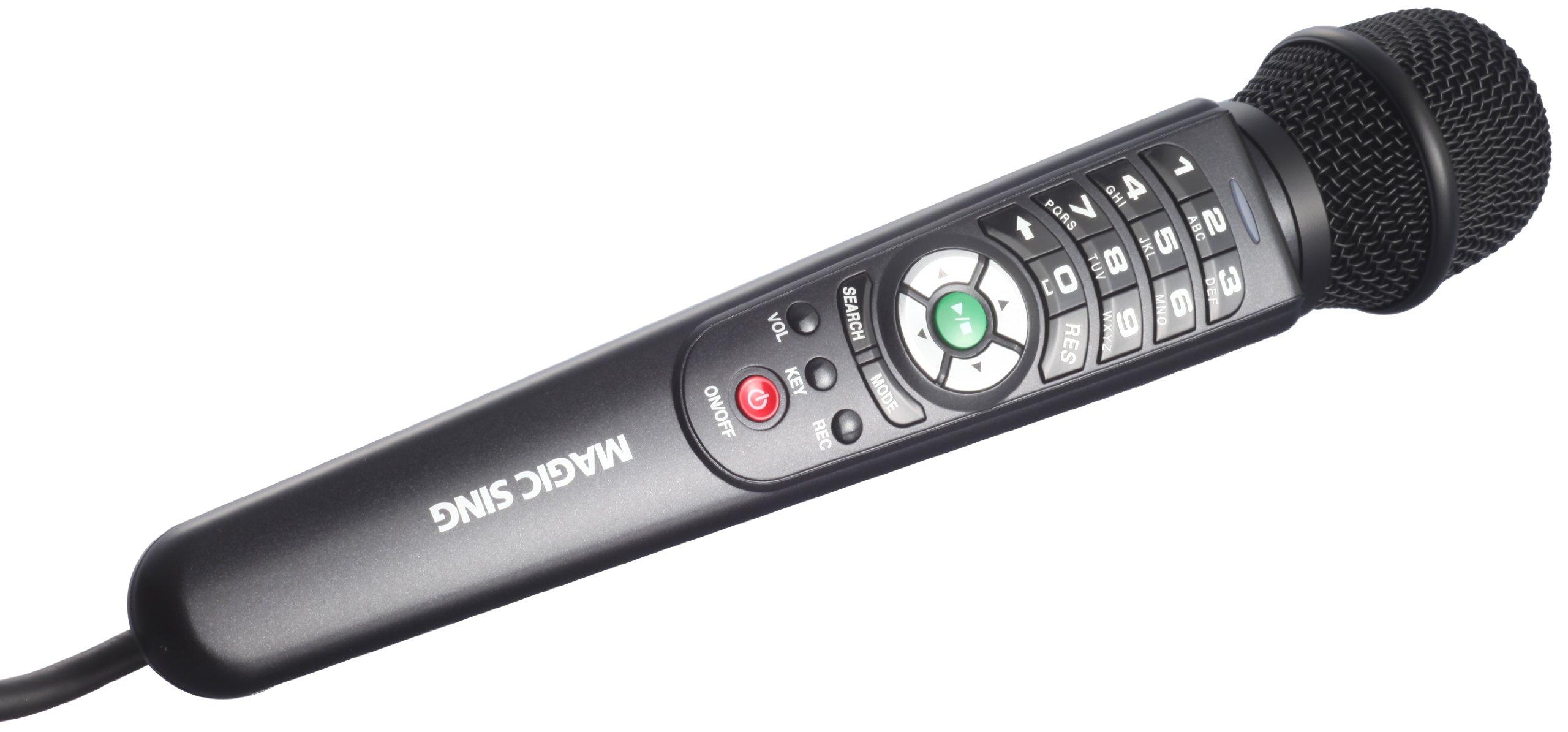 Enter Tech Magic Sing ET25K All-in-One Digital Portable Karaoke Mic, Newest English Edition