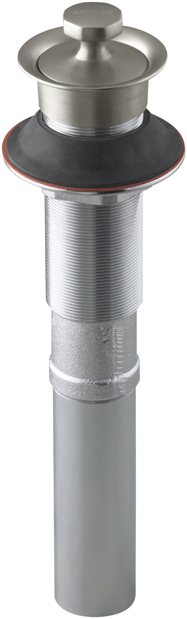 KOHLER K-7127-BN Lavatory Drain, Vibrant Brushed Nickel by Kohler