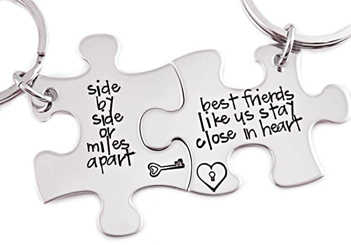 Amazoncom Side By Side Or Miles Apart Best Friends Like Us Stay