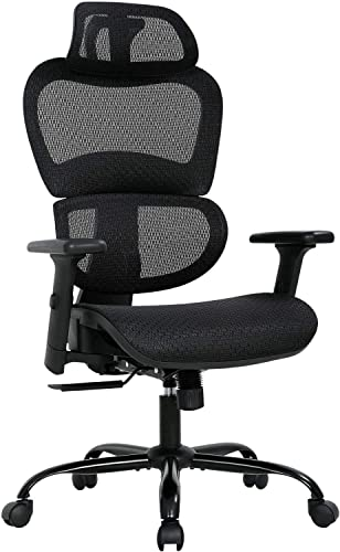 Big and High Home Office Mesh Desk Chair Ergonomic Computer Chair