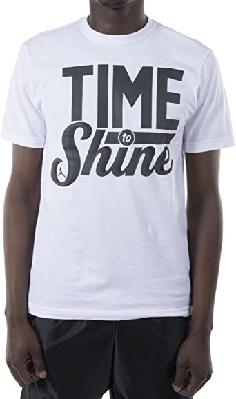 Jordan Nike Air 645486 - Camiseta de manga corta para hombre, color negro - 645486-100, XXL, White /Anthracite: Amazon.es: Deportes y aire libre