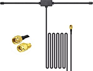 Bingfu 4G LTE SMA Male Antenna 4G LTE Cellular Adhesive Mount Dipole Antenna Compatible with 4G LTE Wireless Router Cellular Trail Camera Game Camera Outdoor Security Camera