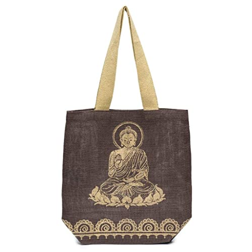 Amazon.com: Bolso de viaje para mujer, lona de Buda, hecho a ...
