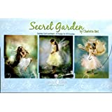 Secret Garden - Child Fairies Greeting Card Assortment by Charlotte Bird [AST90734] - 20 Greeting Cards with Full-color Interiors and Designed Envelopes