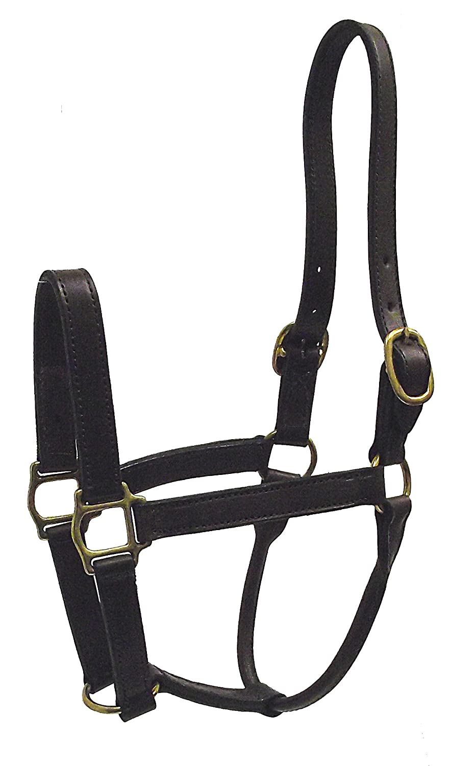 Havana Brown Yearling, 300-500 pounds Havana Brown Yearling, 300-500 pounds Hamilton 1-Inch Leather Deluxe Halter, Yearling Size, Fits 300 to 500-Pound, Havana Brown