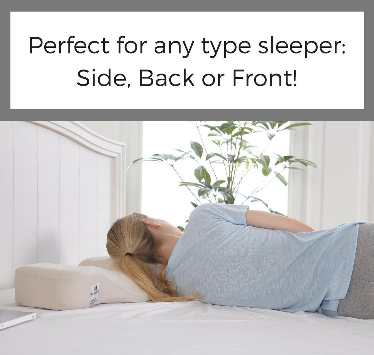 benepom Dual Plus Ergonomic Pillow