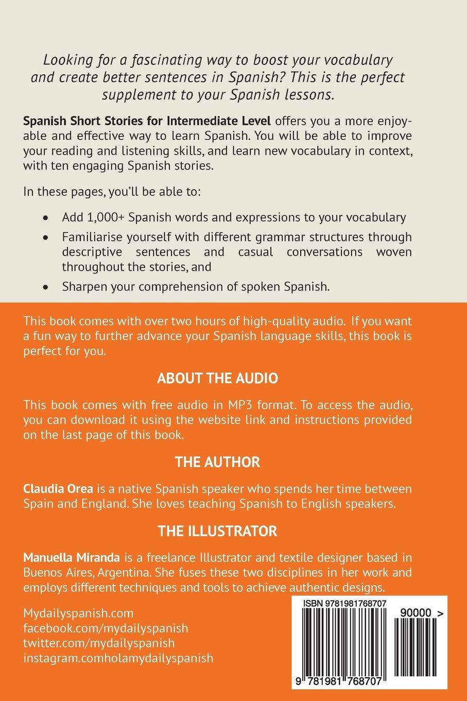 Amazon com: Spanish: Short Stories for Intermediate Level Vol 3