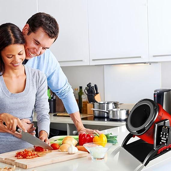 Xiaocaiyidie Automatic Cooking Pot Robot Cooker Wok for Homeuse: Amazon.es: Hogar