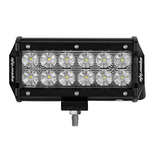 Eyourlife LED Auto Scheinwerfer Offroad Arbeitsscheinwerfer 12 Inch Flutlicht Zusatzscheinwerfer Nebelscheinwerfer Wasserdich