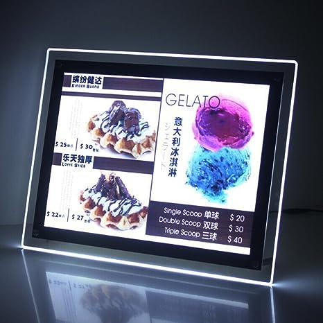 displayonacrylic Contador de Cristal LED Cajas de luz, iluminación ...