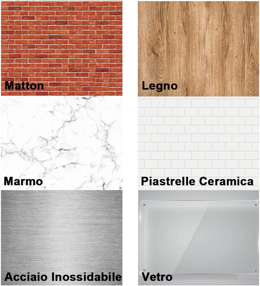 pl/ástico Juego de brocas para azulejos de JTENG etc. madera color negro adecuadas para diferentes materiales como hormig/ón ladrillo vidrio