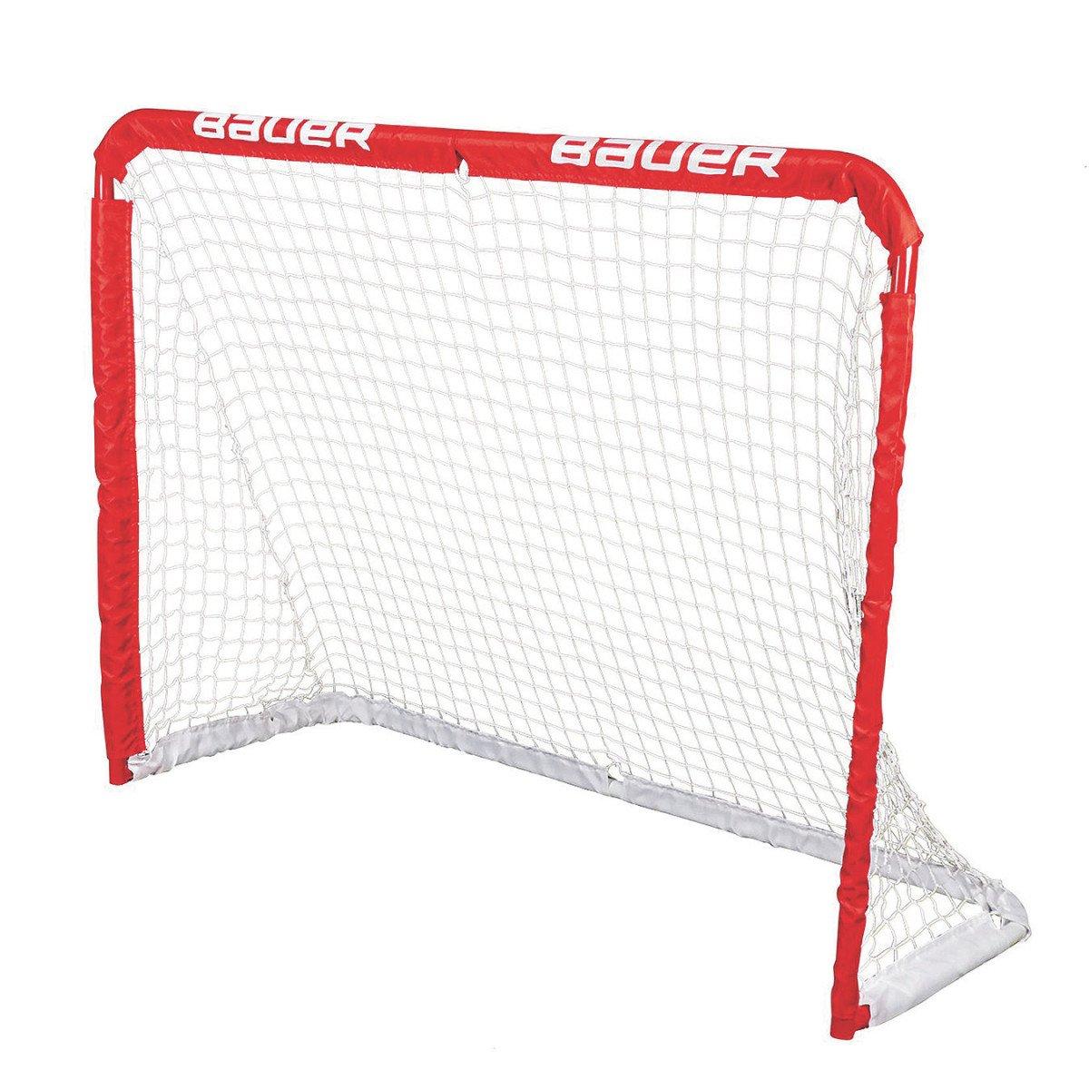 Bauer Street Hockey Junior Recreational Steel Goal, 48 x 37-Inch Bauer Junior REC Steel Goal Red Bauer Performance Sports 1046694