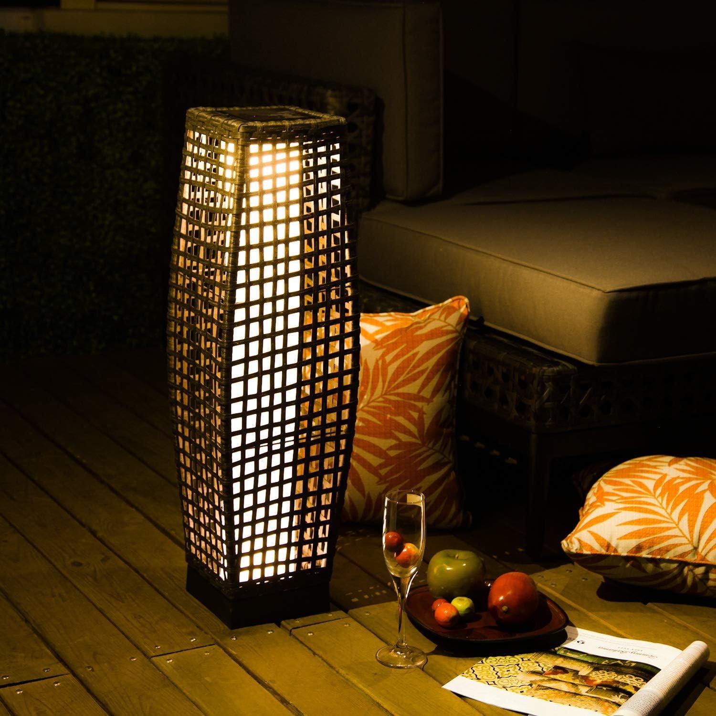 LED solar powered floor