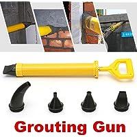 Generic Cement Gunll Poi Wall Pointing 5Nozzle Patio Paving Mortar Applicator Grout Brick Cement Gun 5Nozzle Patio P