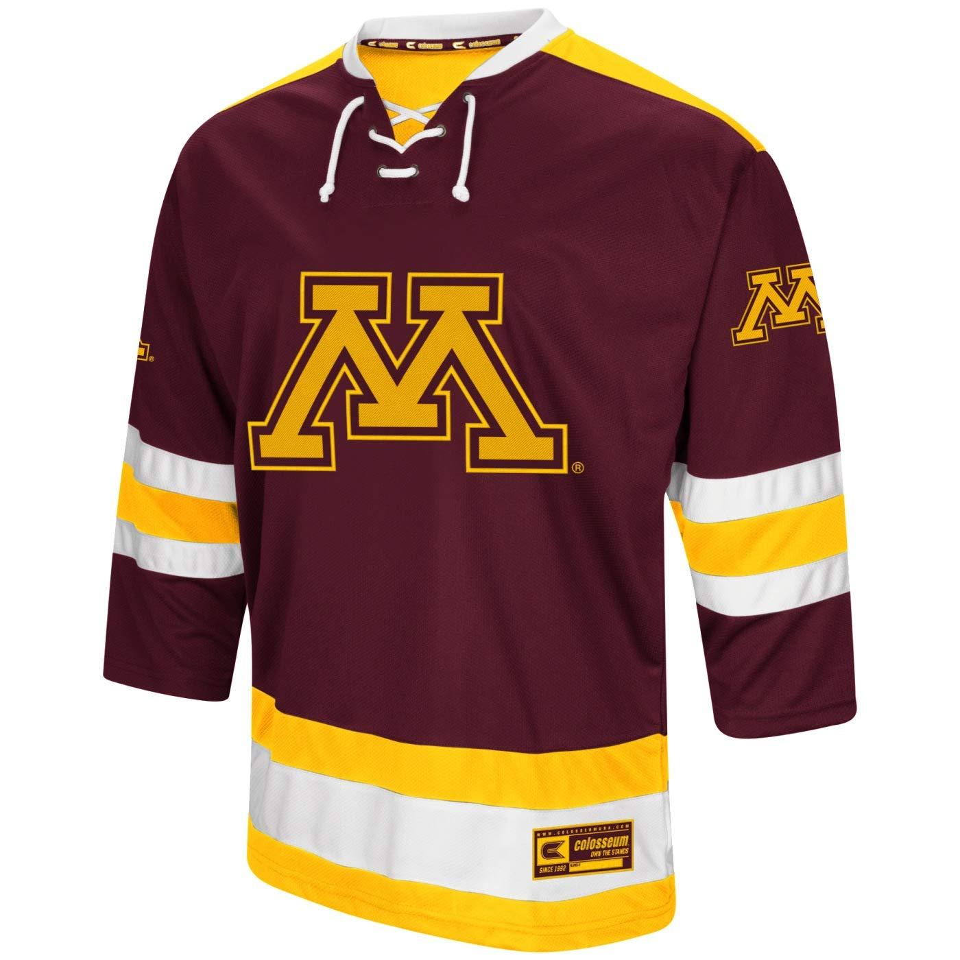 wholesale dealer cfb7e c390b Amazon.com : Colosseum Minnesota Golden Gophers NCAA Ice ...