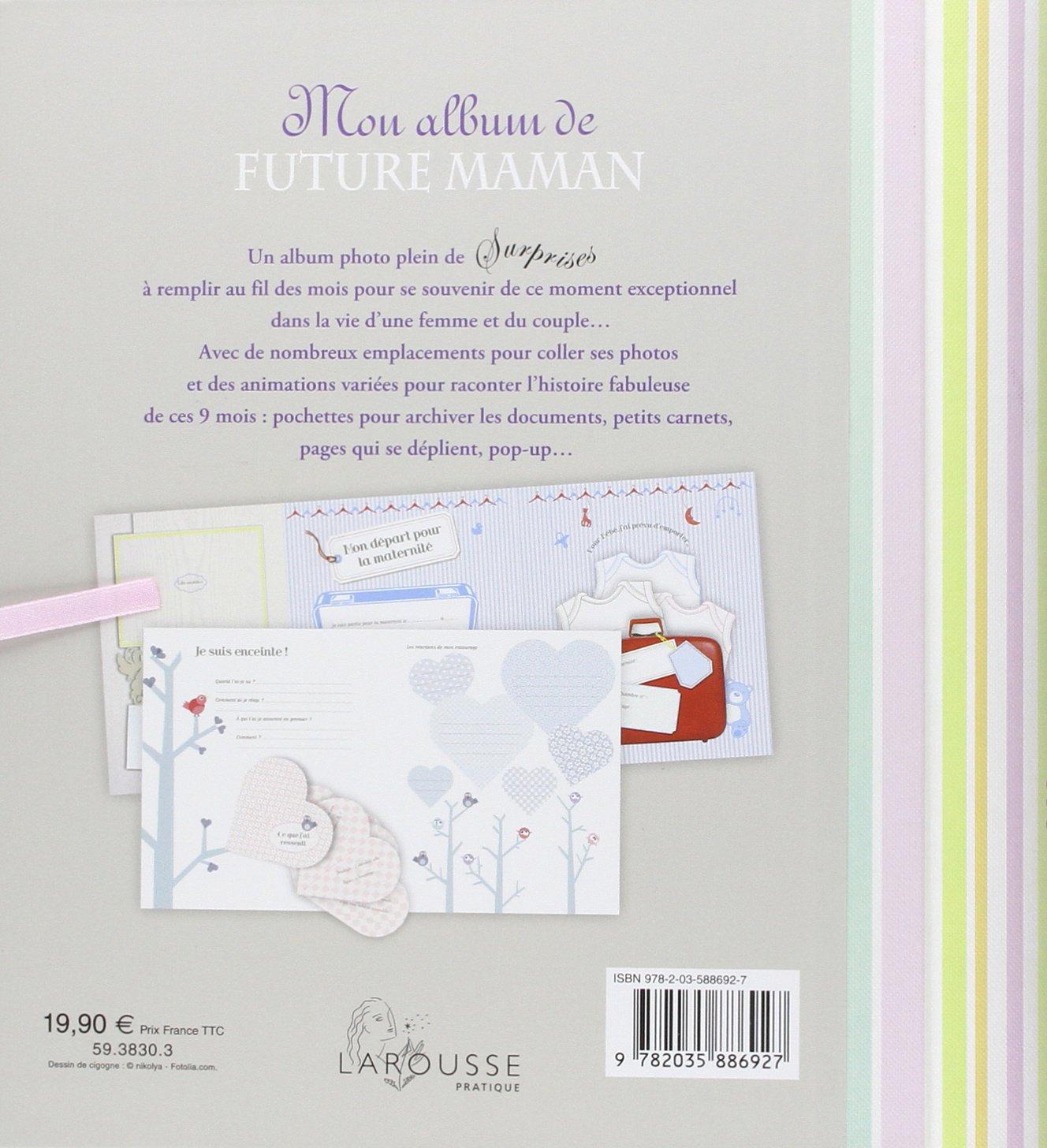 Bien-aimé Amazon.fr - Mon album de future maman - Collectif - Livres TY81