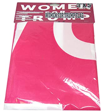 Women For Trump Pink Premium Quality Heavy Duty 3x5 3/'x5/' Polyester Flag Banner