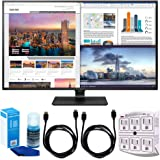"LG 43UD79-B 43"" 4K Ultra HD IPS LED Monitor w/ Accessories Bundle Includes, SurgePro 6-Outlet Surge Adapter w/ Night Light, 2x 6ft High Speed HDMI Cable & Universal Screen Cleaner for LED TVs"