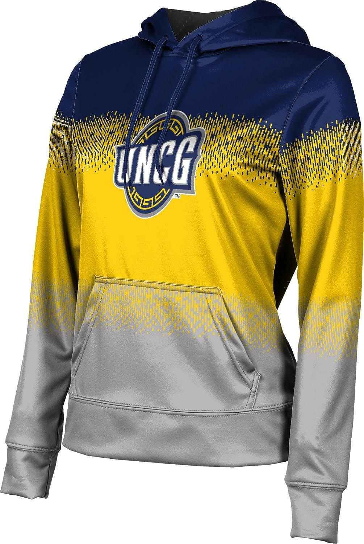 University of North Carolina at Greensboro Girls Zipper Hoodie Drip School Spirit Sweatshirt