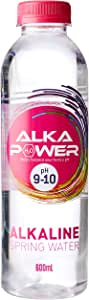 Alka Power Alkaline Water, 12 x 600 Milliliters
