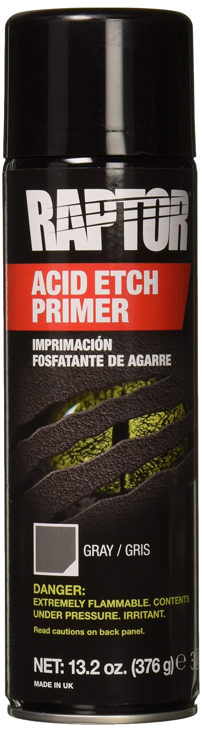 RAPTOR Etch Primer 1K Aerosol UP5023 13.2 Oz