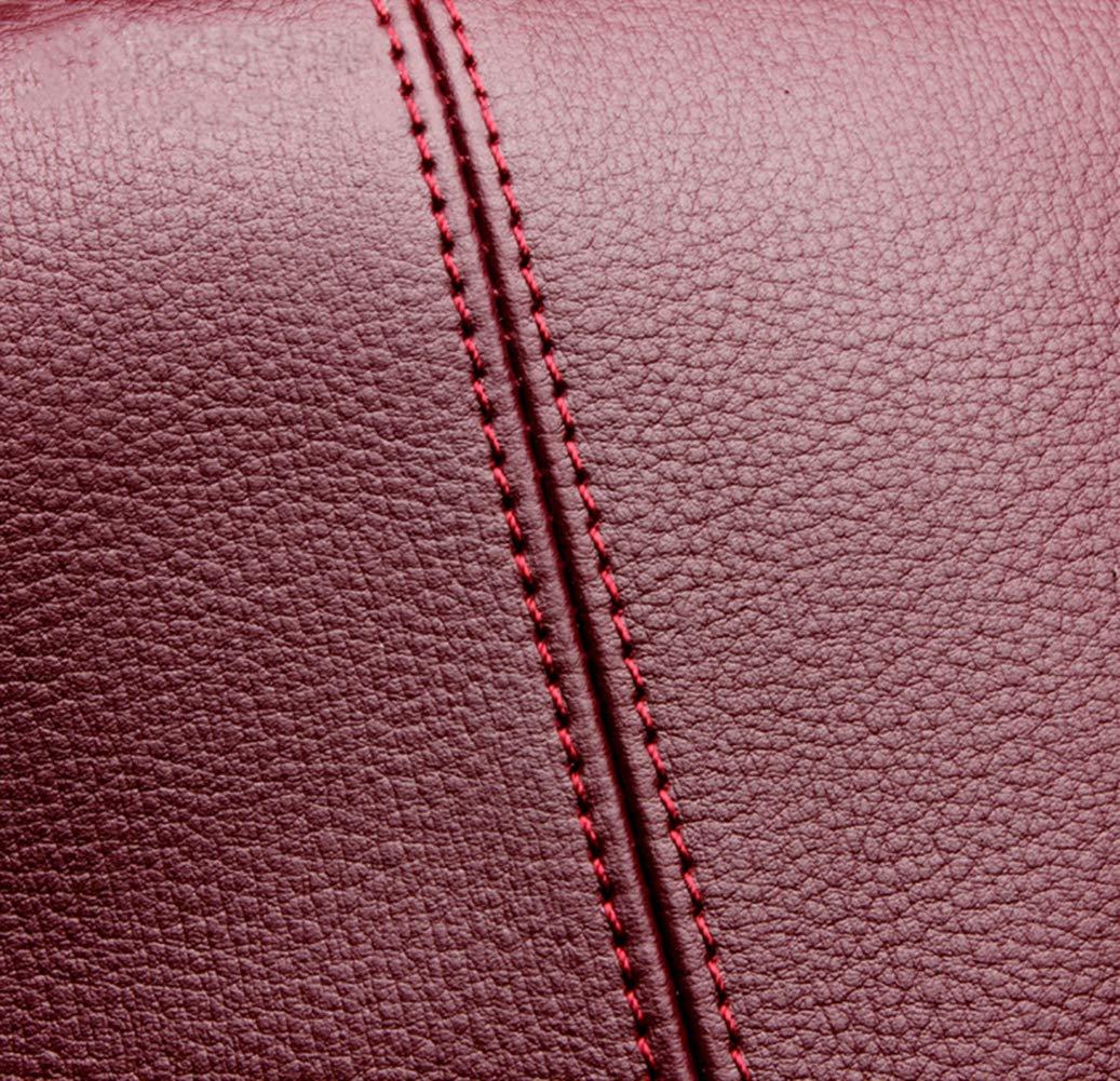 Niustore dam axelväska handväska med stor kapacitet röd