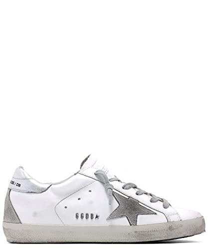 Baskets Cuir Blanc Femme Gcows590w77 Golden Goose kwnO0P