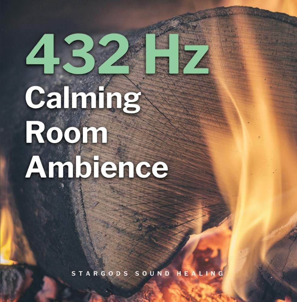 432Hz Calming Room Ambience (Miracle Tone Background Audio Play Softly Healing)